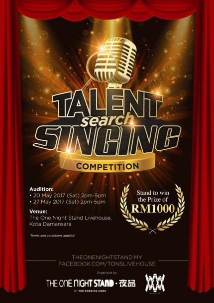 TONS Talent Search Singing Competition - Audition 2 | Peatix