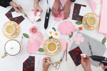 The hideout by sph magazines paper flower brooch crafting ektory the hideout by sph magazines paper flower brooch crafting ektory for saturday sundown ticketholders of singapore coffee festival 2017 mightylinksfo