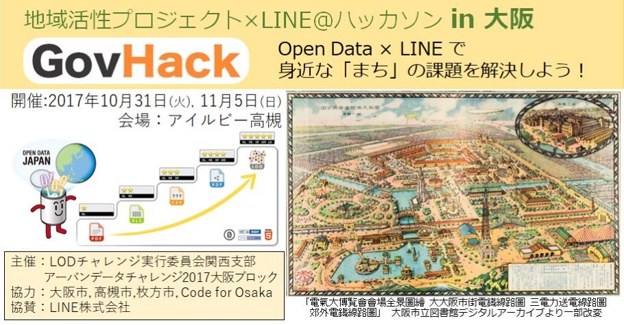 GovHack大阪 in アーバンデータ...